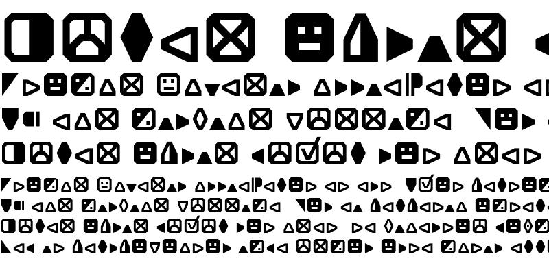 Sample of Expo Symbols Regular