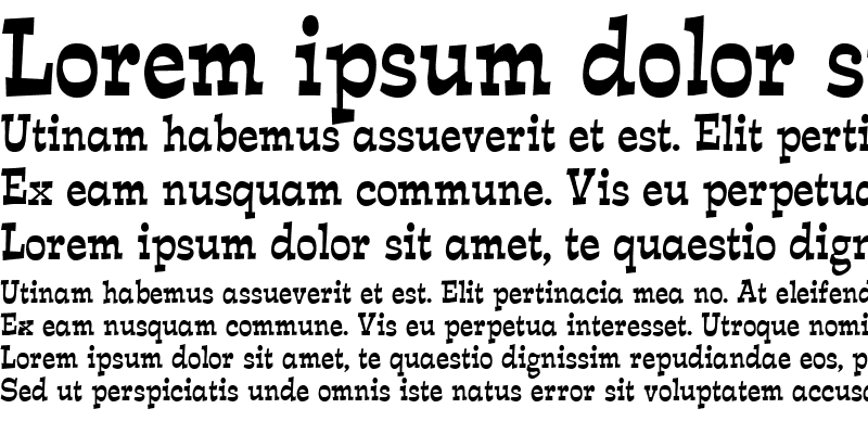 Sample of Expose Thin Condensed