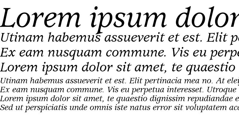 Sample of Exposition Medium SSi