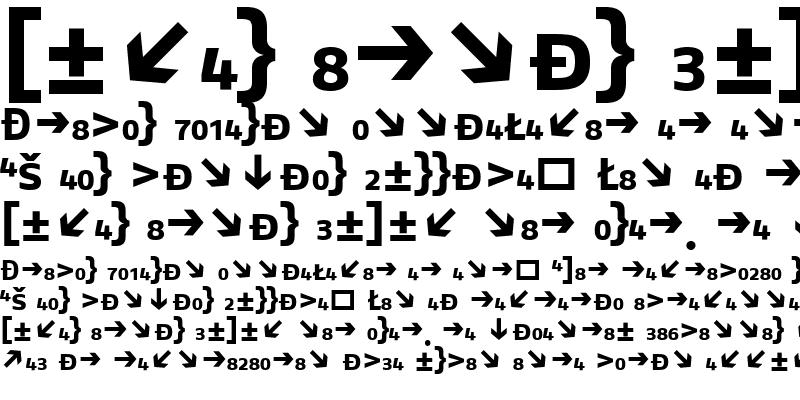 Sample of FagoEx Bold