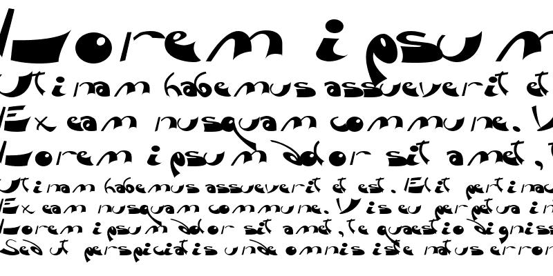 Sample of Fara ttnorm Regular