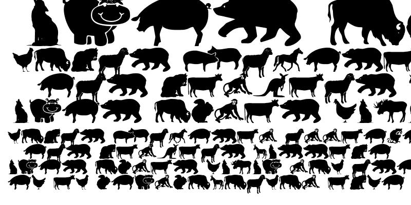 Sample of Farm & Wild Animals
