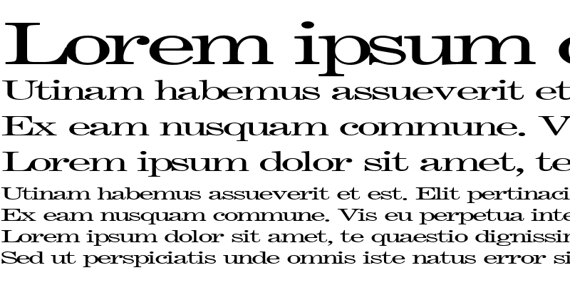 Sample of FastPardonType32 ttext Regular