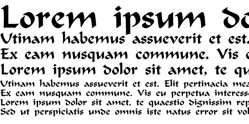 Sample of FERGUSON