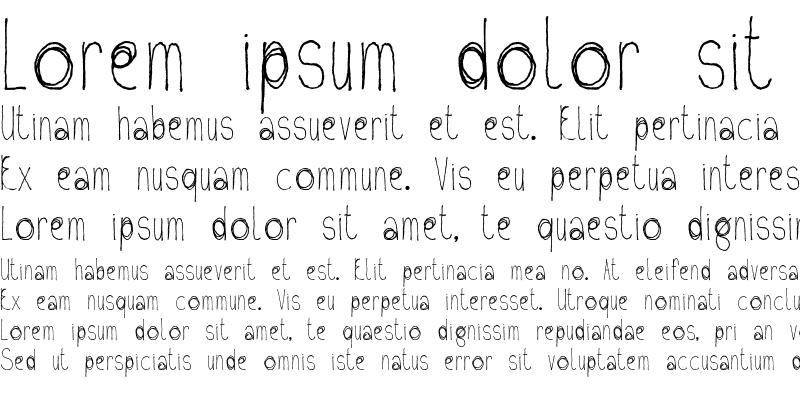 Sample of Fil Sans
