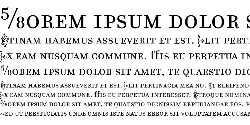 Sample of FilosofiaFractions Roman