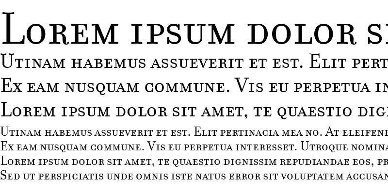 Sample of FilosofiaSmallCaps Regular