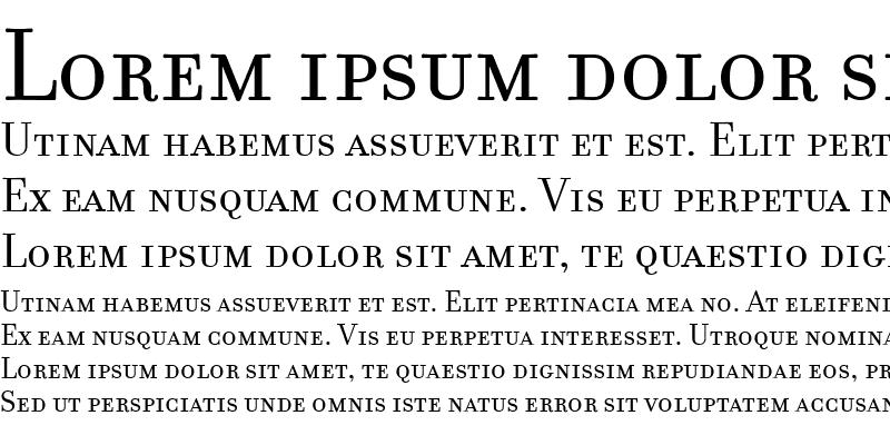 Sample of FilosofiaSmallCaps Small Caps