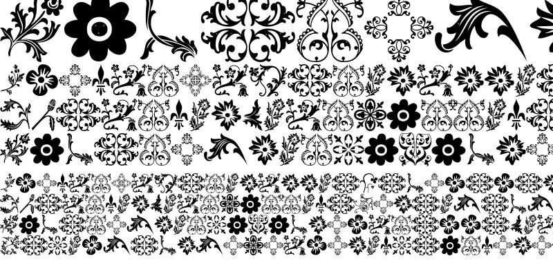 Sample of Floralia Regular