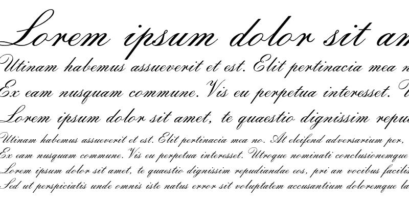 Sample of Florentine ScriptII Std Regular