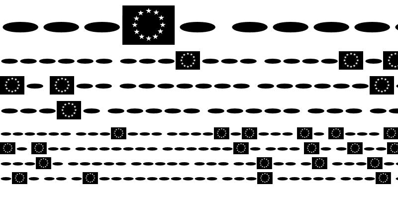 Sample of Fontesque-Euro