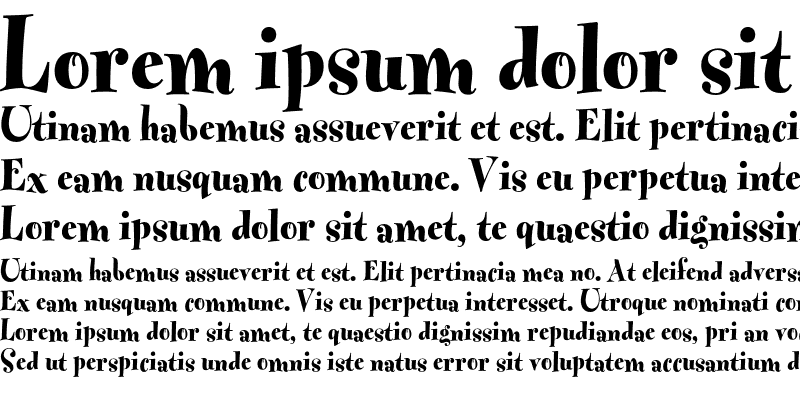 Sample of Fontesque ExtraBold
