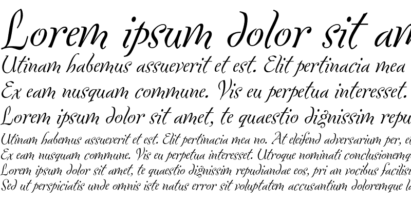 Sample of Fontesque-Italic