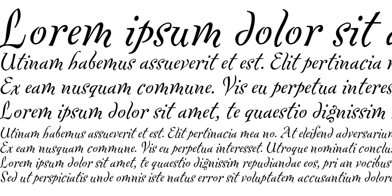 Sample of Fontesque Text Italic
