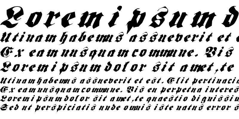 Sample of Frakt