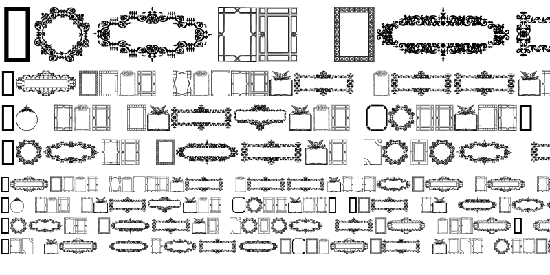 Sample of Frames and Headers