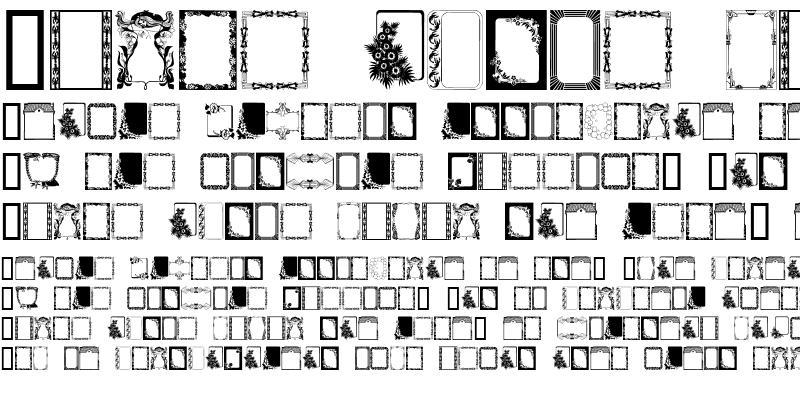 Sample of Frames Regular