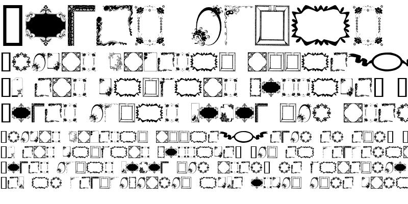 Sample of FramesAndBorders