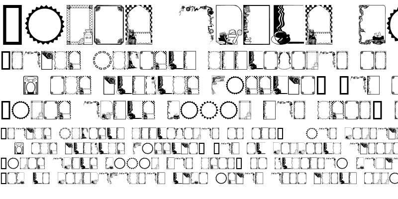 Sample of FramesAndBordersII