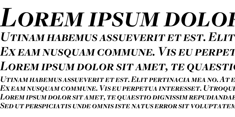 Sample of Freight Disp Bold Italic SC