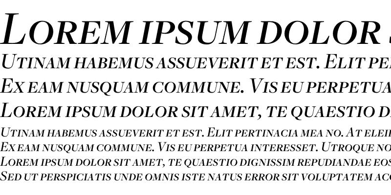 Sample of Freight Disp Medium Italic SC