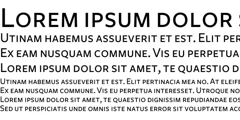 Sample of Freight Sans Medium SC