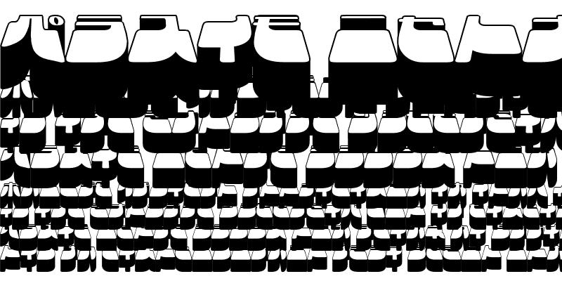 Sample of Frigate Katakana - 3D