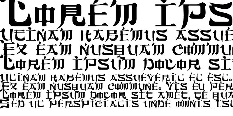 Sample of FujiamaSSK