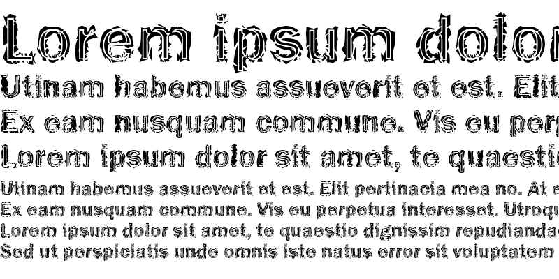 Sample of Funky32 Bold