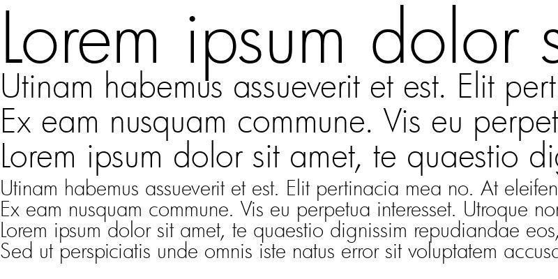Sample of Futura Lt