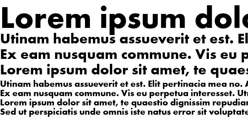 Sample of Futura T
