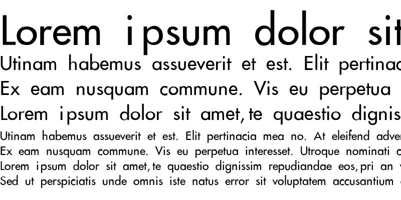 Sample of Futura-Thin