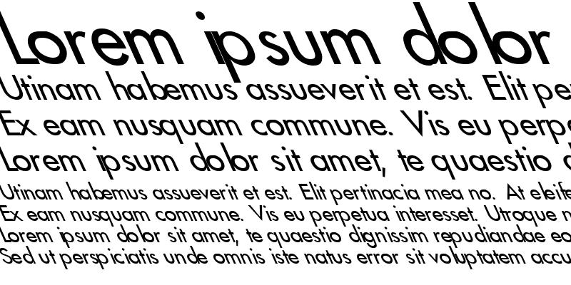 Sample of Futura2-Normal Lefty