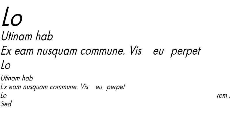 Sample of FuturaCndObl-Normal