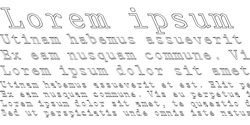 Sample of FZ DIGITAL 1 HOLLOW LEFTY Normal