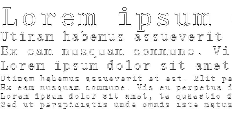Sample of FZ DIGITAL 1 HOLLOW Normal