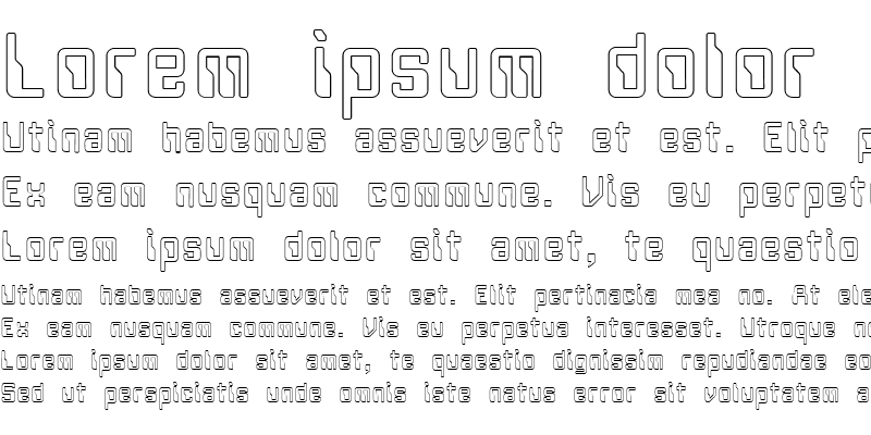 Sample of FZ DIGITAL 5 HOLLOW Normal
