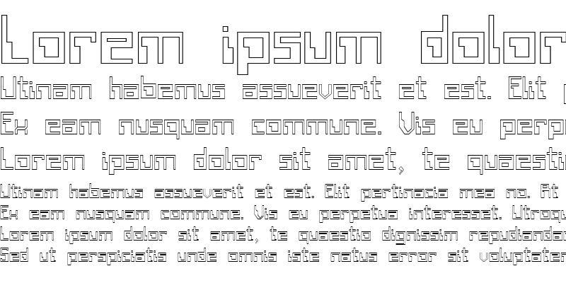 Sample of FZ DIGITAL 6 HOLLOW Normal