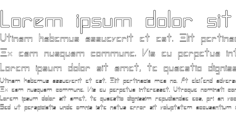 Sample of FZ DIGITAL 7 HOLLOW Normal