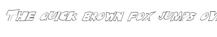 Preview of FZ JAZZY 10 HOLLOW ITALIC Light