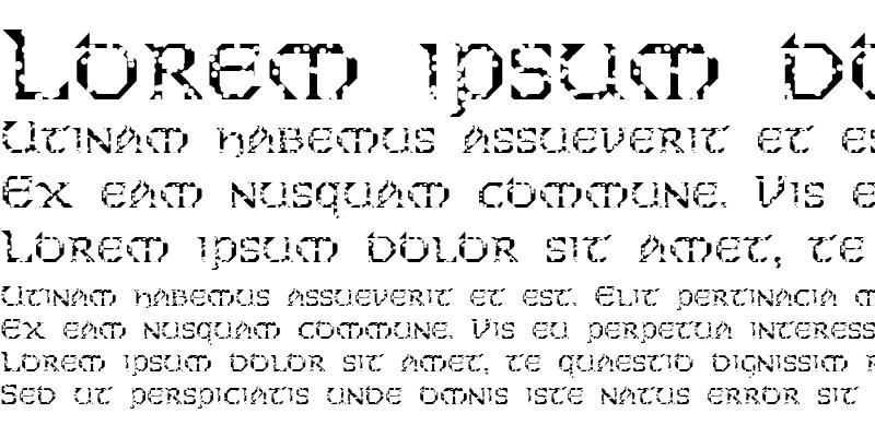 Sample of FZ JAZZY 31 HOLEY
