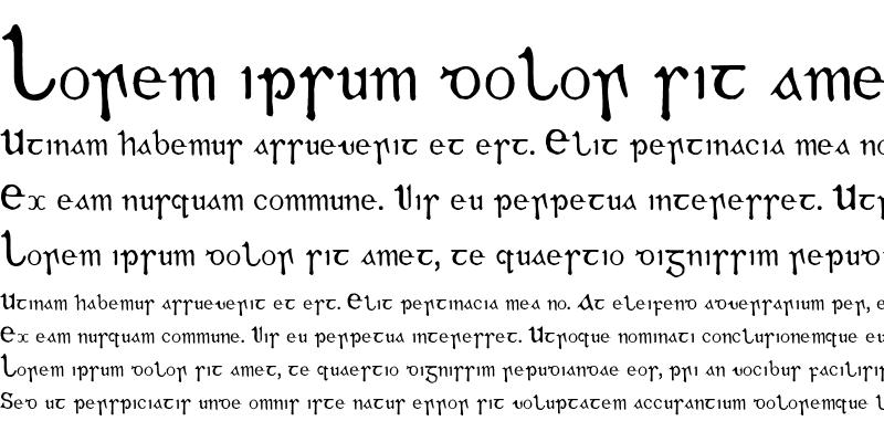 Sample of Gaeilge Regular