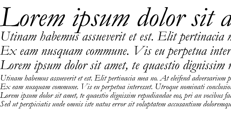 Garamond Italic Download For Free View Sample Text Rating And More On Fontsgeek Com
