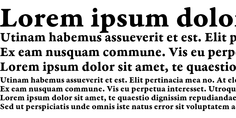 Sample of Garamond Premier Pro Bold Caption