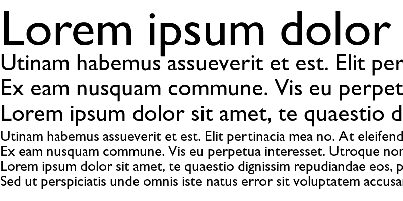 Sample of GarrisonSans-Medium
