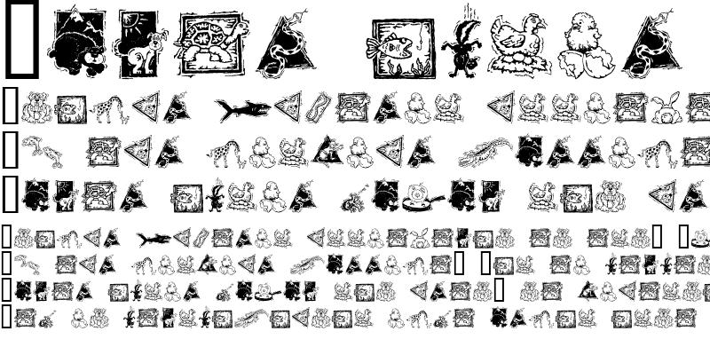 Sample of GE Deco Animals