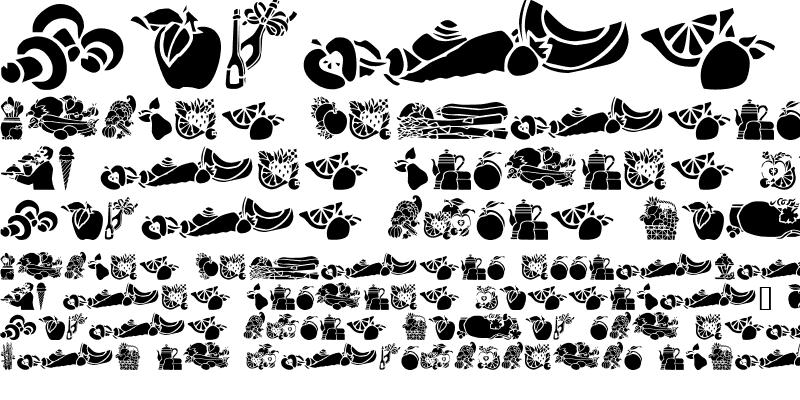 Sample of GE Edibles
