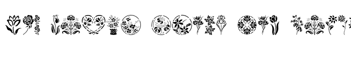 Preview of GE Floral Stencils Regular
