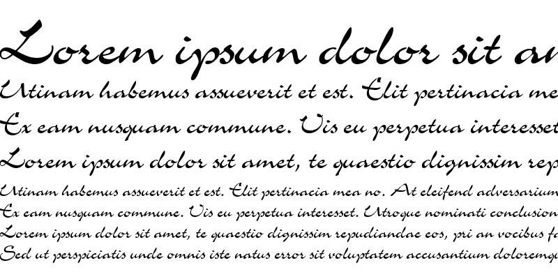 Sample of GE Memograph Script
