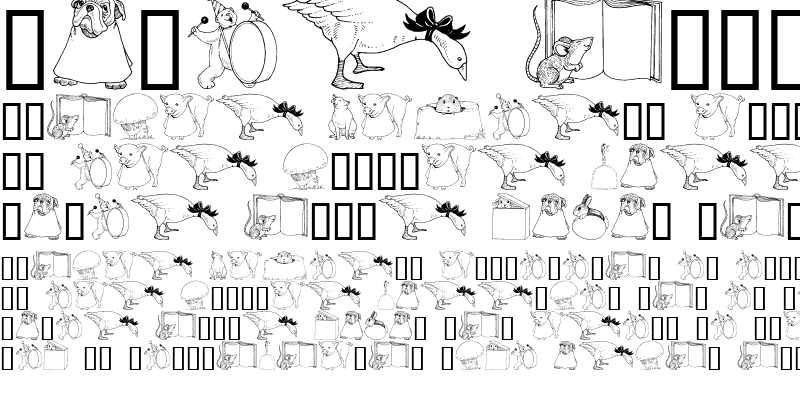 Sample of GE Whimsical Animals I Regular